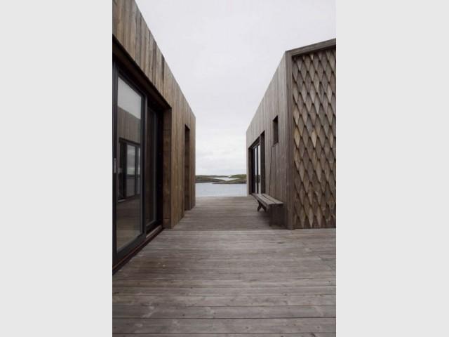 Maison Kebony en Norvège : incontournable sauna - Maison Kebony - Norvège