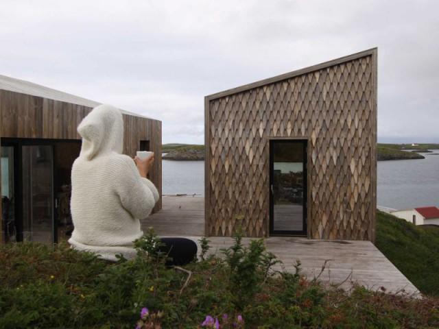 Maison Kebony en Norvège : source d'inspiration pour les artistes - Maison Kebony - Norvège