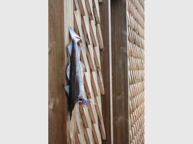 Maison Kebony en Norvège : écailles de poisson - Maison Kebony - Norvège