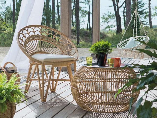 Le rotin fait son grand retour dans votre jardin pour un effet jungle - Les tendances Outdoor 2016