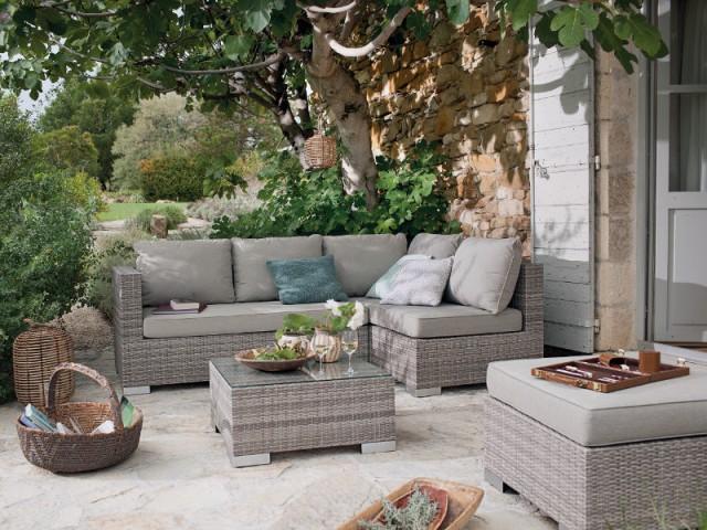 La résine tressée aux airs de fibres naturelles pour son jardin - Les tendances Outdoor 2016