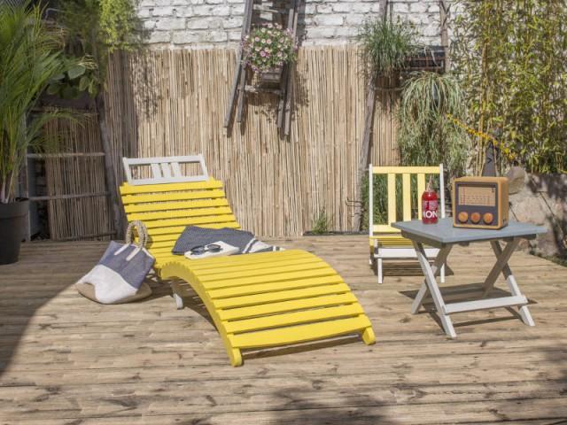 Des chaises longues toutes en beauté pour l'été