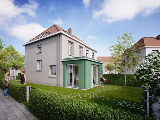 Après : une extension de 15 m2 pour rénover la maison - Maison Renov Active à Bruxelles par Velux