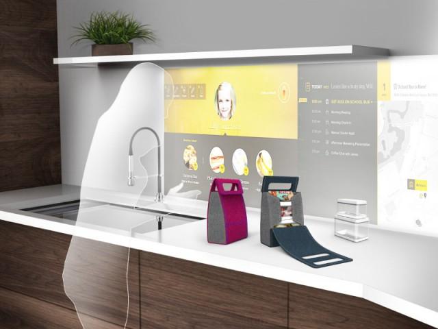 Cuisine interactive du futur