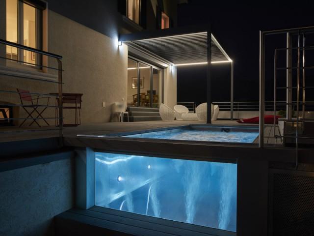 Des projecteurs LEDs pour une ambiance romantique