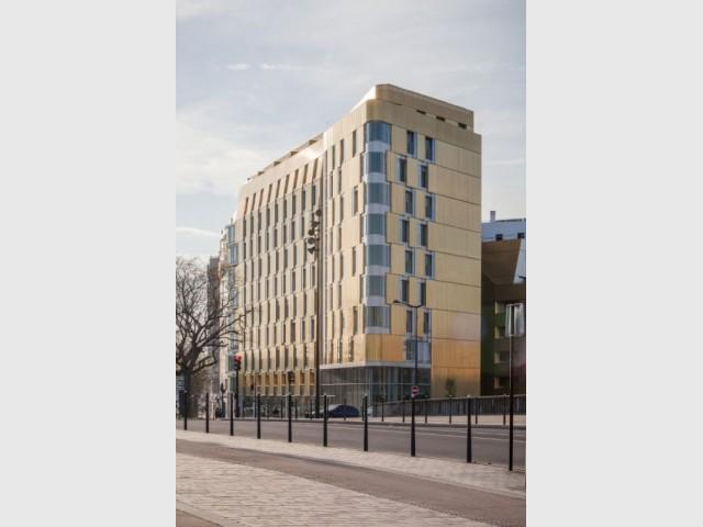 Flat Copper : une façade en cuivre pour une lumière dorée - Flat Copper - Badia Berger architectes