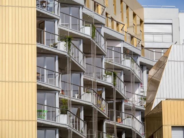 Flat Copper : des façades intérieures végétalisées - Flat Copper - Badia Berger architectes