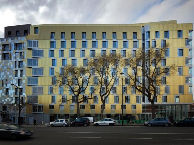 Flat Copper : une façade courbe pour suivre l'espace - Flat Copper Paris