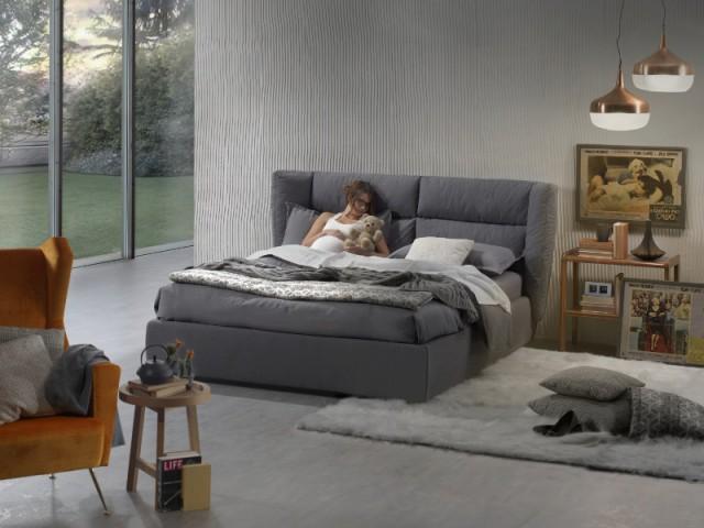 Une tête de lit moelleuse pour dormir comme sur un nuage - Les nouveautés literie 2016