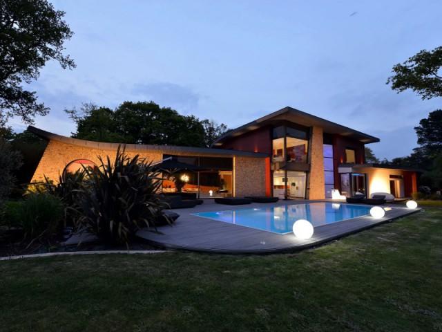 Une maison contemporaine lève les voiles  - Une maison contemporaine inspirée par les yachts