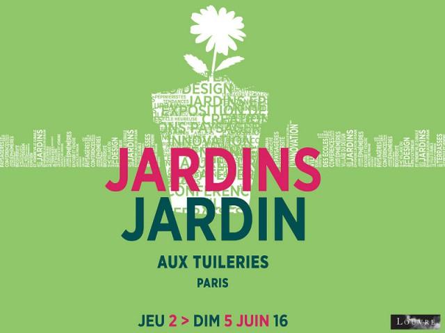 Affiche de Jardins Jardin aux Tuileries 2016