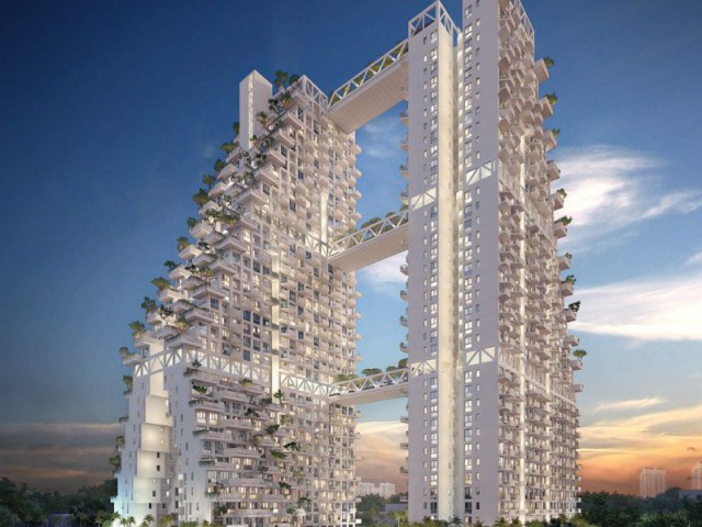 Sky Habitat : densifié tout en améliorant le cadre de vie - Sky Habitat