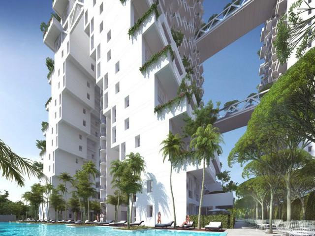 Sky Habitat : un village tropical et vertical - Sky Habitat