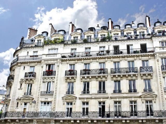 Un immeuble parisien