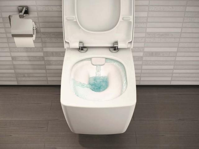 Des toilettes sans brides pour une bonne hygiène
