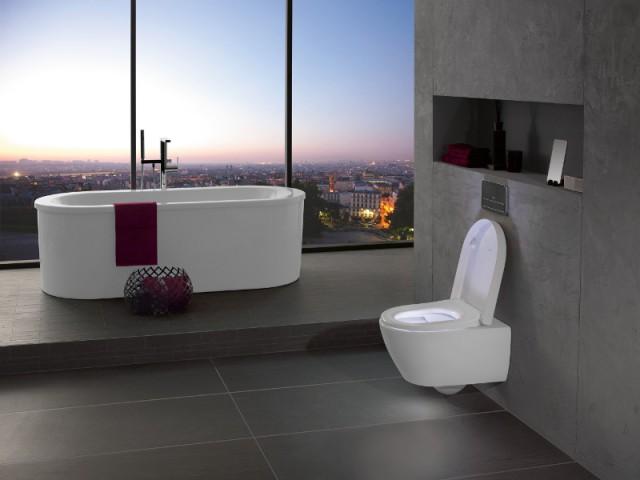 Des toilettes lumineuses pour un usage pratique  - Innovations sanitaires