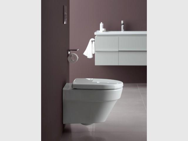Des toilettes équipées d'un petit réservoir pour un usage écologique  - Innovations sanitaires
