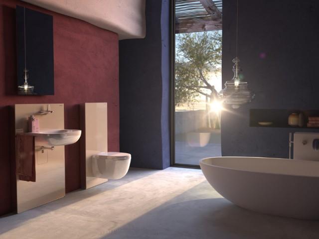 Des toilettes équipée d'une chasse d'eau laquée pour une salle de bains esthétique - Innovations sanitaires