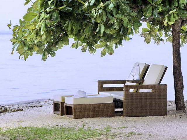 Une chilienne tressée pour une ambiance sauvage - Dix fauteuils pour profiter de son jardin à deux