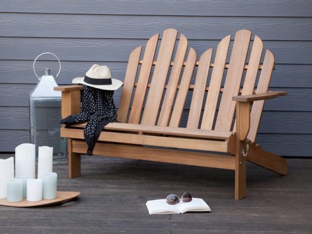 Un fauteuil américain deux places pour une ambiance zen - Dix fauteuils pour profiter de son jardin à deux