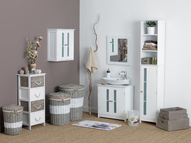 Petits espaces 10 meubles sous vasque pour une petite salle de bains - Meilleur meuble salle de bain ...