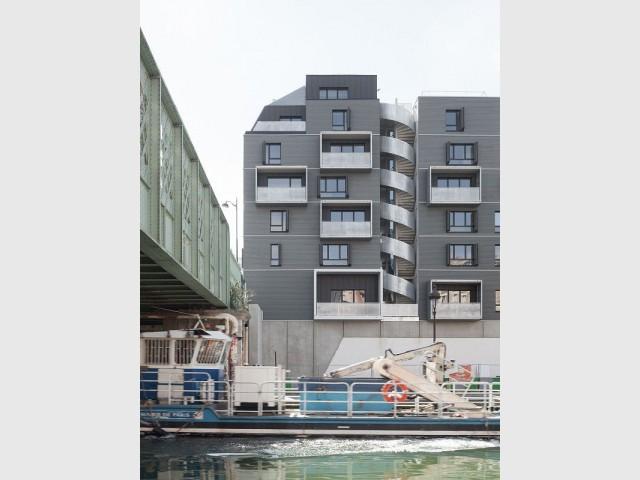 Une façade aux accents géométriques pour l'immeuble Diapason - Diapason