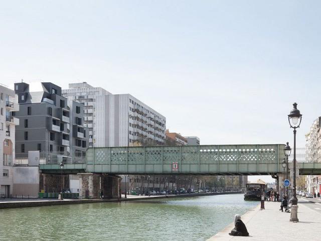 Un immeuble de métal discrètement intégré dans Paris - Diapason