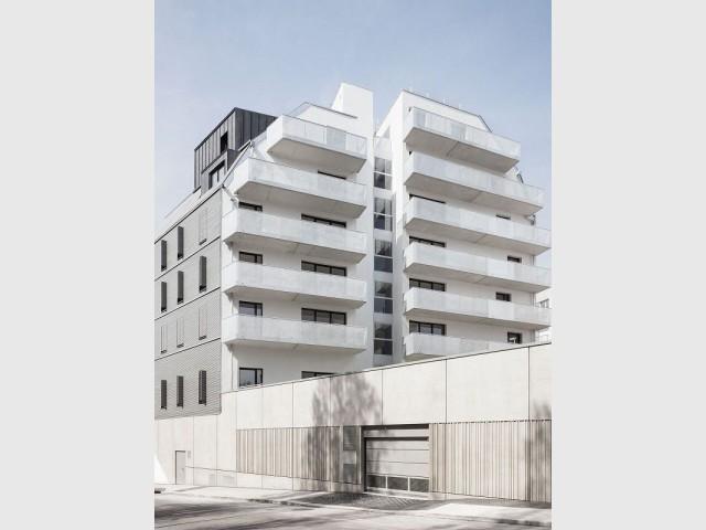 Un jardin et de grands balcons pour les appartements du projet Diapason - Diapason