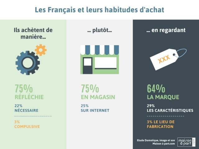 Achat image et son : les Français préfèrent les magasins à Internet - Enquête Les Français, la domotique et l'équipement image et son