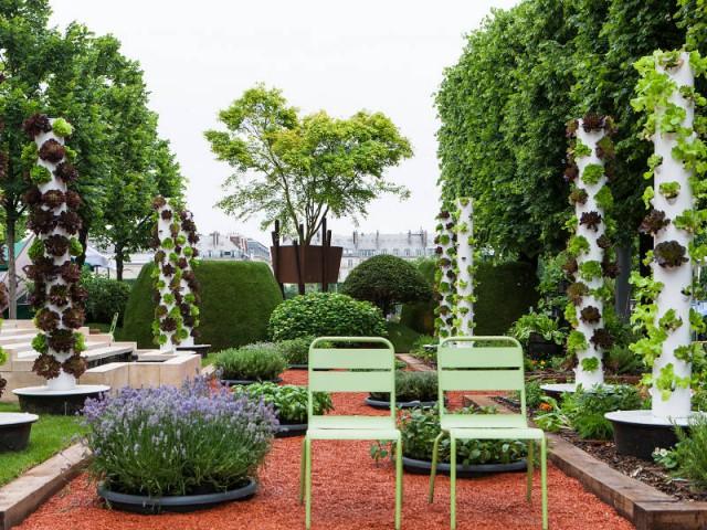 Le Jardin gourmand - Capsel Paysage, par Olivier Riols