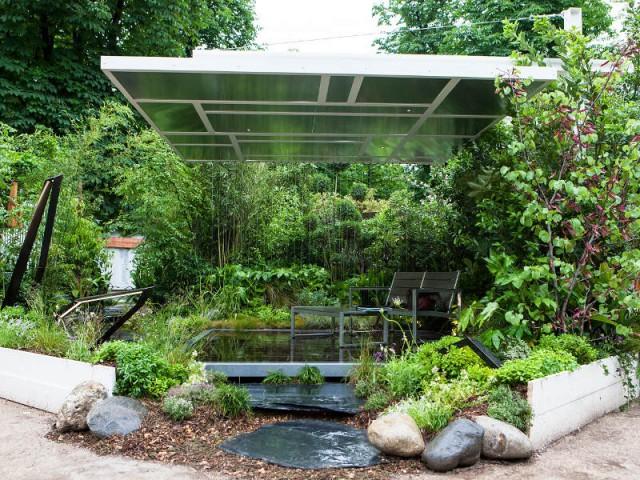 Apesanteur estivale - Carré des jardiniers, par Sylvère Fournier
