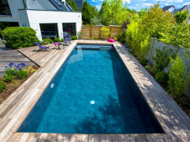 une piscine automatisée facile d'entretien