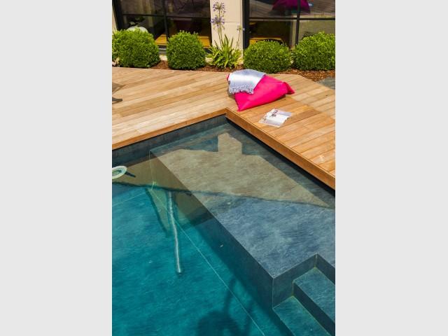 Un bassin adapté à toutes les situations - une piscine automatisée facile d'entretien