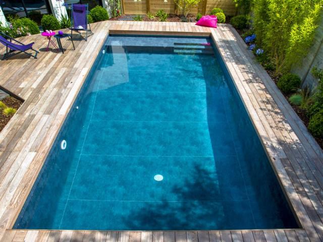 Une piscine accessible à tous les publics  - une piscine automatisée facile d'entretien