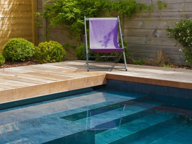 Une piscine esthétique totalement automatisée - une piscine automatisée facile d'entretien