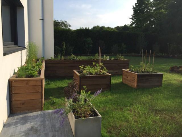 Un potager pour une cuisine naturelle - Un jardin écologique aux nuances japonaises