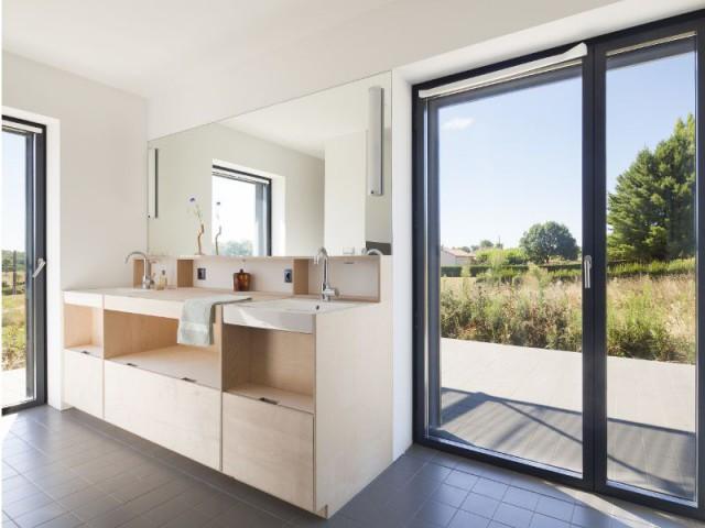 Une construction en 1 mois seulement - Maison Saint-Sauveur, agence Laurence Chéret