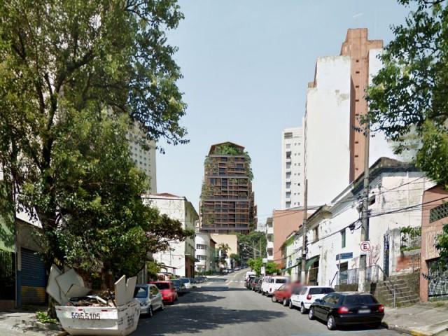 Tour Rosewood Sao Paulo : Signal urbain - Tour Rosewood SaoPaulo de Jean Nouvel