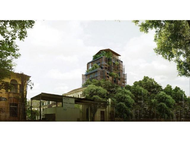 Tour Rosewood Sao Paulo : Un site longtemps laissé à l'abandon - Tour Rosewood SaoPaulo de Jean Nouvel