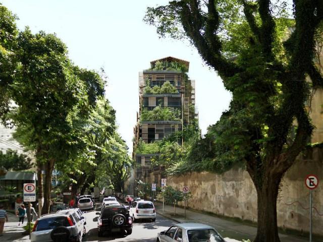 Tour Rosewood Sao Paulo : Petit diamant entouré d'une ville chaotique - Tour Rosewood SaoPaulo de Jean Nouvel