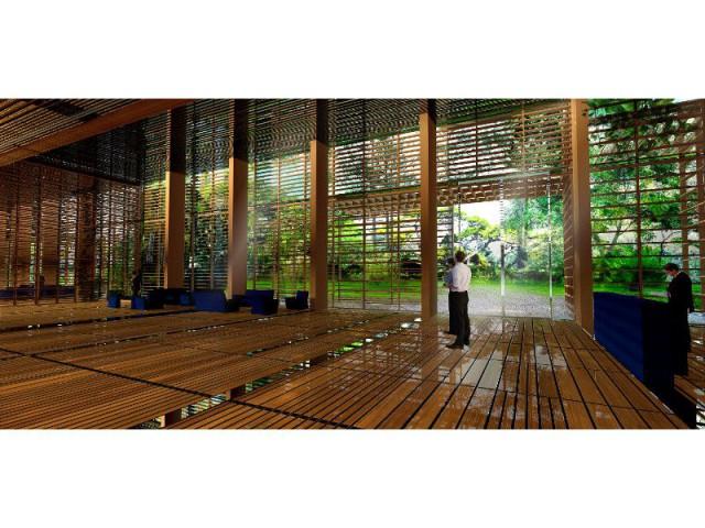 Tour Rosewood Sao Paulo : Une structure en acier - Tour Rosewood à SaoPaulo conçue par Jean Nouvel