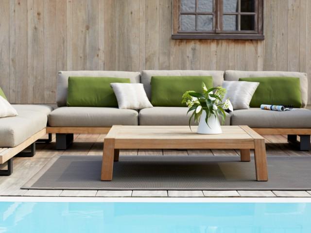 Un tapis pour aménager sa terrasse