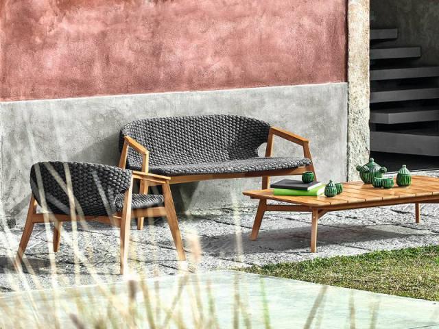 Un mobilier de jardin en résine tressée pour une terrasse pleine de naturelle - La résine tressée pour le mobilier de jardin