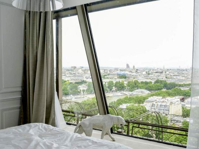 Un appartement aménagé dans la Tour Eiffel