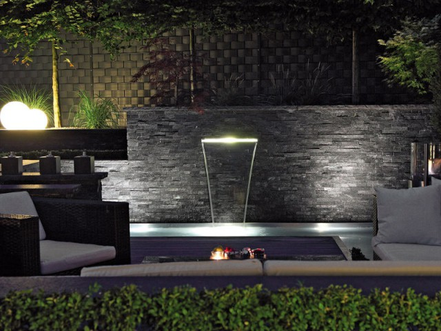Un bassin en ardoise pour un jardin élégant - Un bassin esthétique pour mon jardin