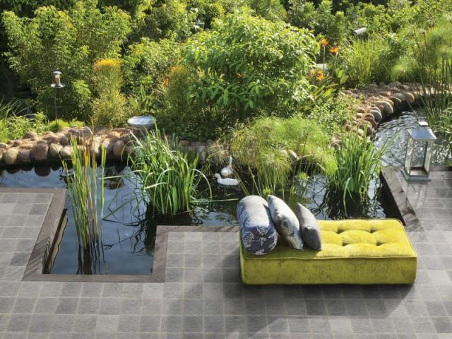 Un bassin comme une rivière pour un jardin naturel - Un bassin esthétique pour mon jardin