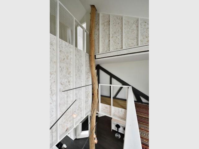 Maison PJ - colonne de 14 m - Maison PJ à Nantes