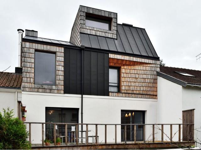 Maison PJ : deux niveaux bien dissimulés - Maison PJ à Nantes