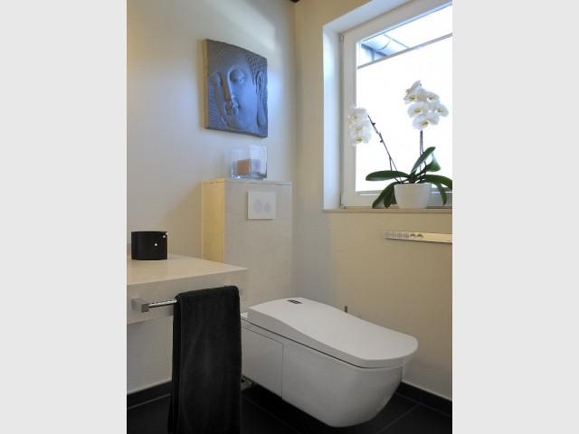 Un système de toilettes ultra-hygiénique - Une salle de bains zen au top de la technologie