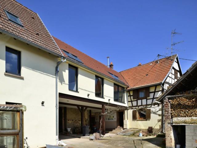 Une grange difficile à rénover  - Une grange alsacienne rénovée